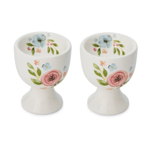 Cooksmart Country Floral Set of 2 Egg Cups