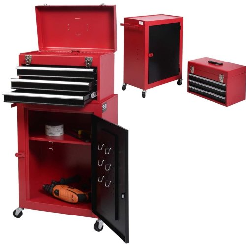 FDS Rolling Tool Chest Box Cabinet Storage Drawer Toolbox