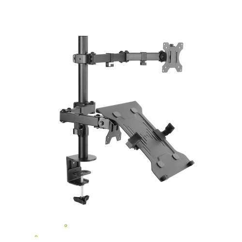 Dihl Tablet Computer Monitor Desk Arm Mount Clamp Stand Laptop VESA 75mm 100mm