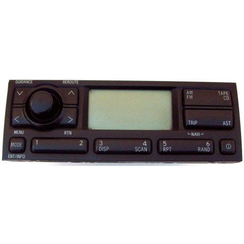 Toyota Avensis Navigation Display CD Player Headunit 86110-05010 CN-TS6070L