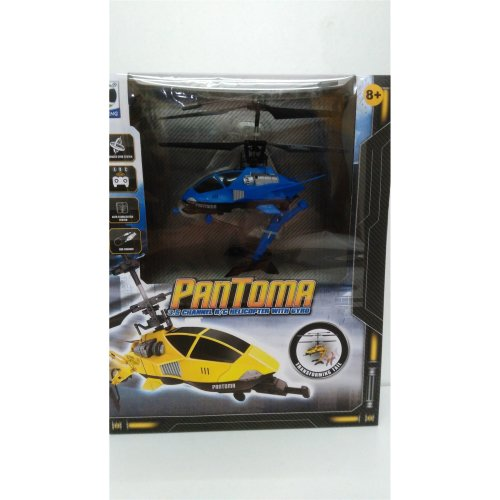 Pantoma 3.5 Channel R/C Helicopter With Gyro Transforming Tail - BLUE