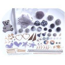 Grey Earrings Supplies Earring Findings for Making Earrings