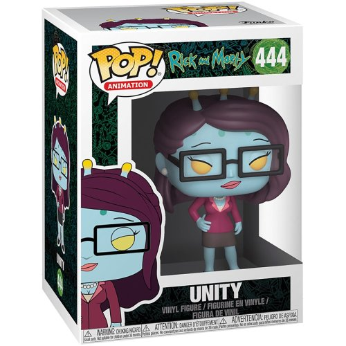 Funko Rick And Morty Pop! Unity Collectable Figure #444