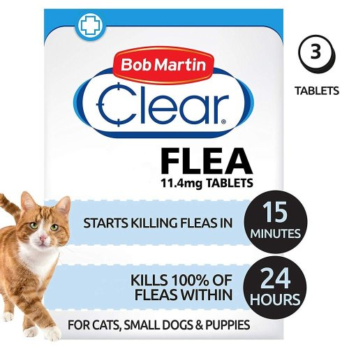 Bob Martin Clear Cat & Dog Flea Tablets