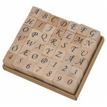 Pbx2471129 - Playbox - Wood Stamps 12 X 12 Mm