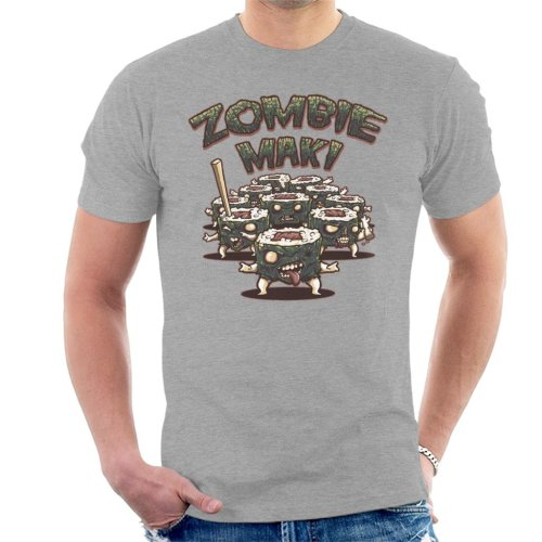 056eb5b4d Zombie Maki With Text Men's T-Shirt on OnBuy