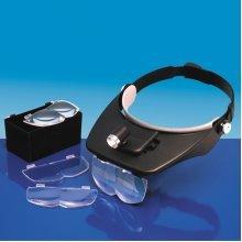 Versatile Headband Magnifier With 4 Lenses