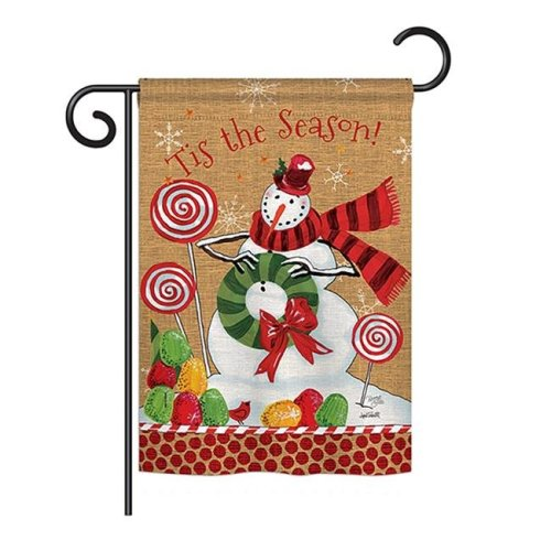 Breeze Decor BD-XM-G-114209-IP-BO-DS02-US Sweet Celebrate Fun Winter - Seasonal Christmas Impressions Decorative Vertical Garden Flag - 13 x 18.5 in.