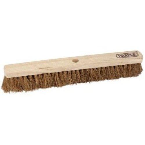 600mm Soft Coco Platform Broom - Draper Head 43774 -  draper soft coco broom head 600mm 43774