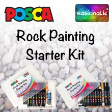 Posca Rock Painting Starter Kit.
