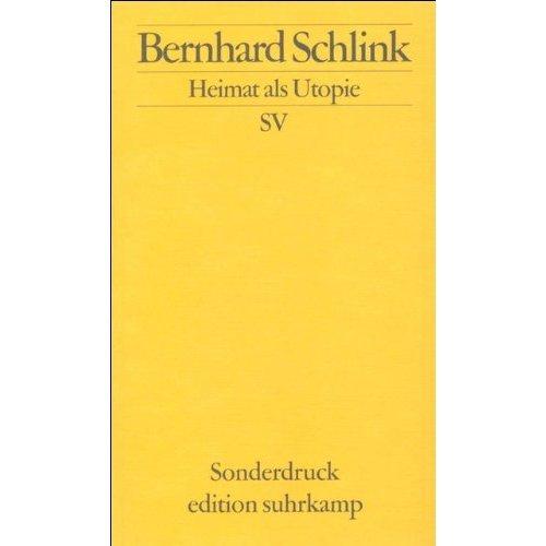 Heimat als Utopie (Edition Suhrkamp)