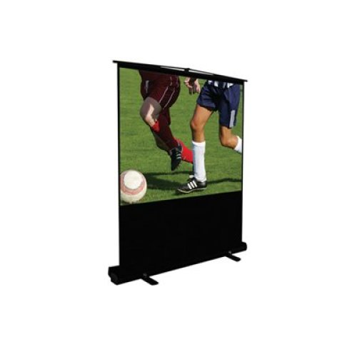 Height Adjustable Portable Projection Screen 60''