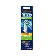 Oral-B Cross Action 4 pack of Refill heads