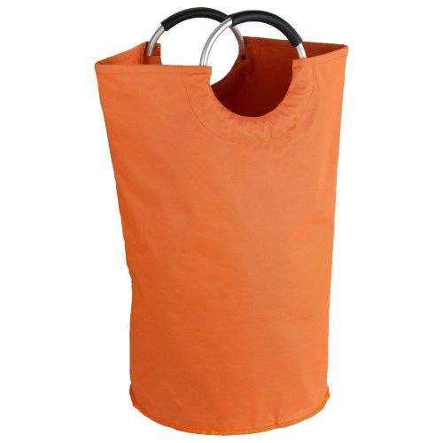 """Wenko """"Jumbo Laundry Bin, Orange"""