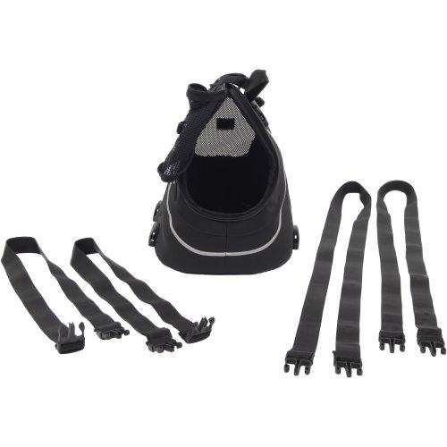 "Petego Infinita Universal Sport Bag 16""X10""X12""-Black & Silver-Up To 15Lbs"