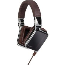 JVC Esnsy Over-Ear Deep Bass Foldable Portable Headphones with Mic and Remote for Android and iPhone Smartphones - Brown
