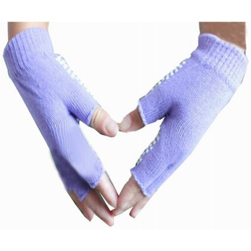 Women's Yoga Gloves Practical Non-slip Cartoon Gloves, Purple