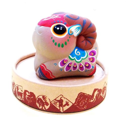 Figurines Clay Sculpture Zodiac Ornaments Chinese Characteristic Toy Clay