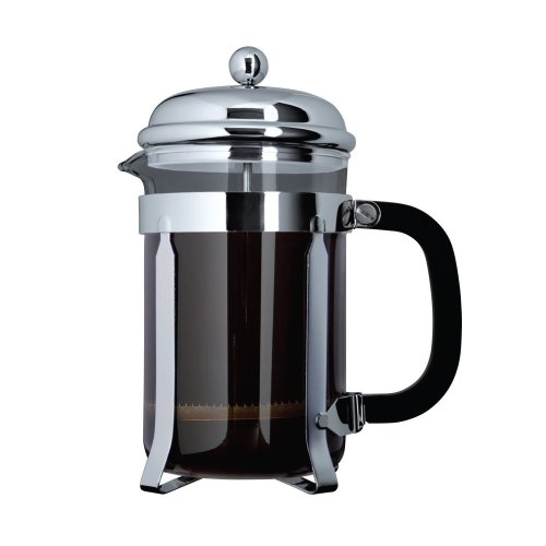 Grungwerg Cafe Ole 8-Cup Plunger Coffee Maker - Chrome