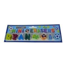 Childrens Mini Erasers - Ryan