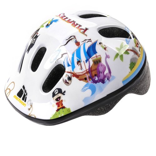 Meteor Baby Kids childrens Boys Cycle Safety Crash Helmet Small size (Pirate, 48-52 cm)