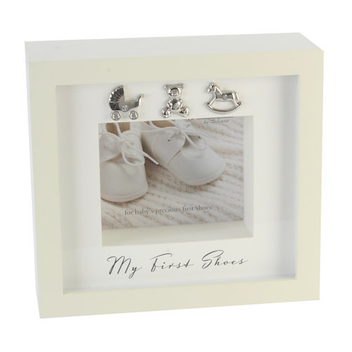 Bambino By Juliana 'My First Shoes' Keepsake Display Box