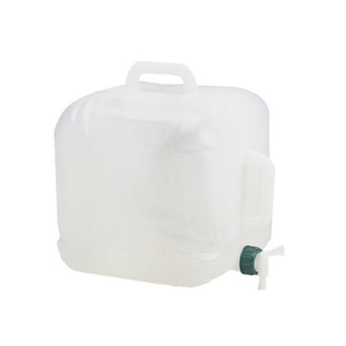 Coleman 765028 5 Gallon Expandable Water Carrier White