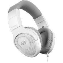 Speedlink Medusa Street XE Stereo Headset, White/Grey (Model No. SL-870000-WEGY)