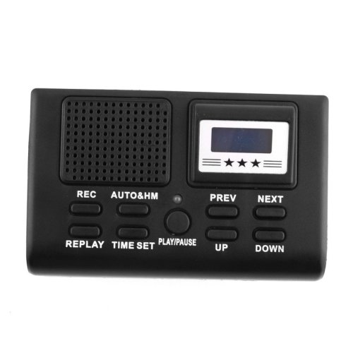 Telephone Call Voice Sound Recording Registration SD Card Recorder