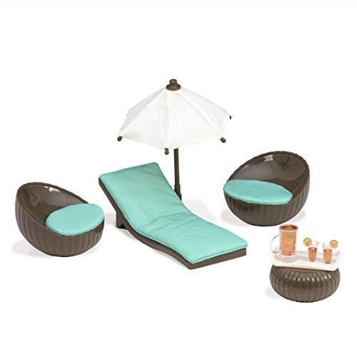Lori Doll Garden Patio Set