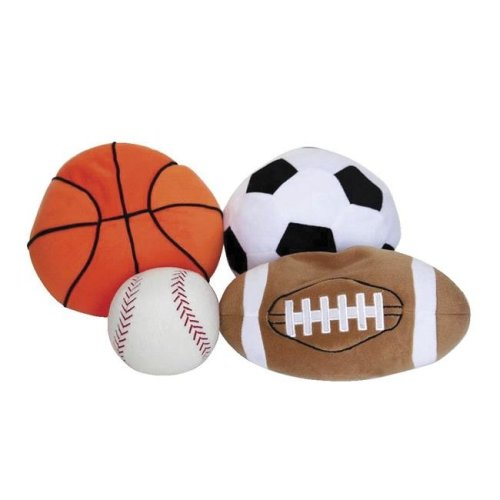 Covered in Comfort 1543187 Sport Ball Set, Set of 4