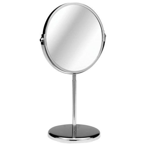 Free Standing Swivel Shaving Mirror With Magnifying Option