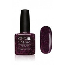 CND Shellac Nail Polish - Poison Plum