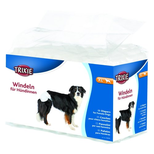 Diapers (nappies) for dogs, 12 pieces, XL, 12 pcs