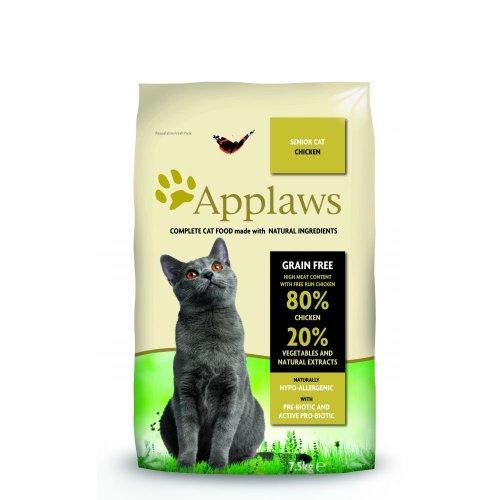 Applaws Cat Dry Senior Chicken 7.5kg