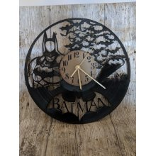 Batman 3 Vinyl Record Clock home decor gift