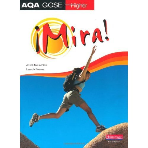 Mira AQA GCSE Spanish Higher Student Book | GCSE Spanish Book