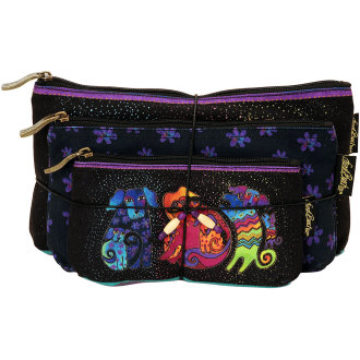 Cosmetic Bags 3/Pkg-Dogs & Doggies