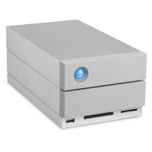 LaCie 2big Dock Thunderbolt 3 8000GB Desktop Grey disk array