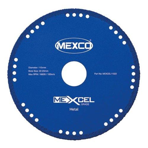 Mexco MEXCEL 115mm Metal Cutting Blade