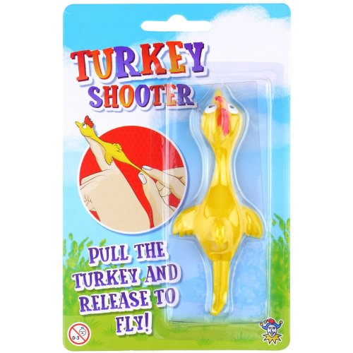 2 x Flying Turkey Shooters | Christmas Stocking Fillers Party Bag Favours