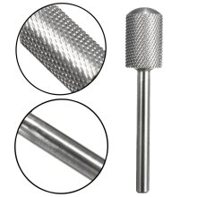 Sliver Nail Drill Bits Files Cylinder With Smooth Top For Nail Art Salon Manicure Tools
