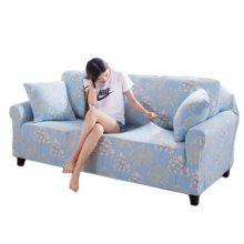 Double Sofa Cover Modern Elastic Sofa Couch Throws Slipcovers Non-slip Dustproof Sofa Cover-A21