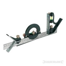 Silverline Combination Square Set 300mm - 991857 -  square set silverline combination 300mm 991857