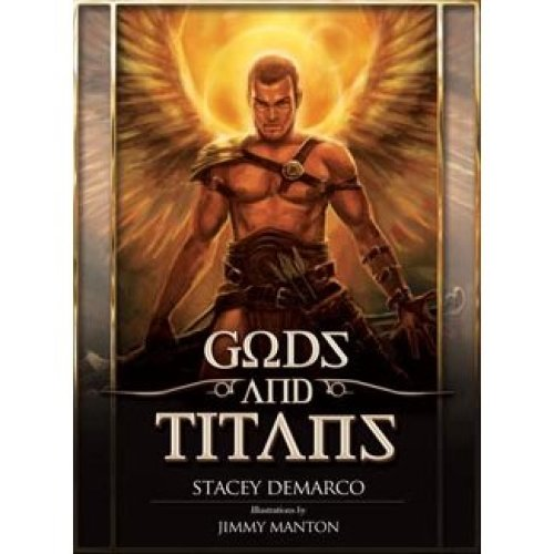Gods and Titans Oracle Cards - Stacey Demarco, Jimmy Manton