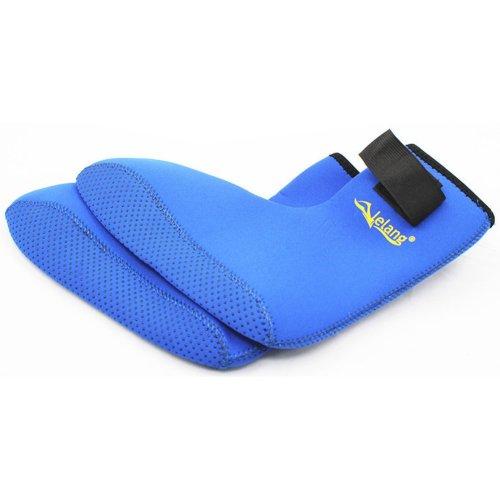 Children Sand Socks Water Skin Shoes Diving Socks,Blue L