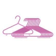 Children's Hangers - Set of 10, Pink