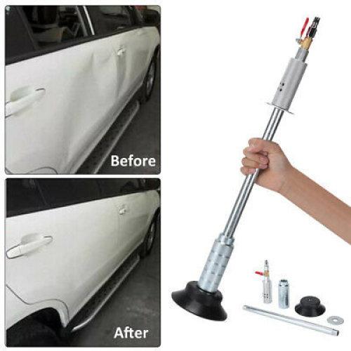 Air Pneumatic Dent Puller Car Body Sag Repair Suction Cup Slide Tool Hammer Kit