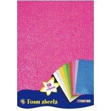 Pbx2471004 - Playbox - Foam Sheets A4 (10 Colours) - 10 Pcs