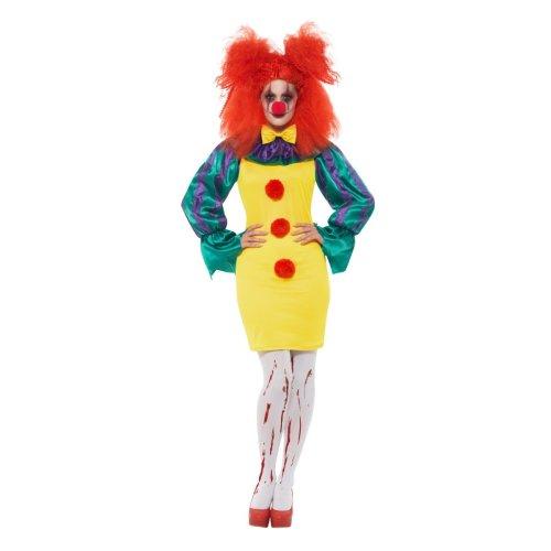 Classic Horror Clown Lady Costume   Halloween